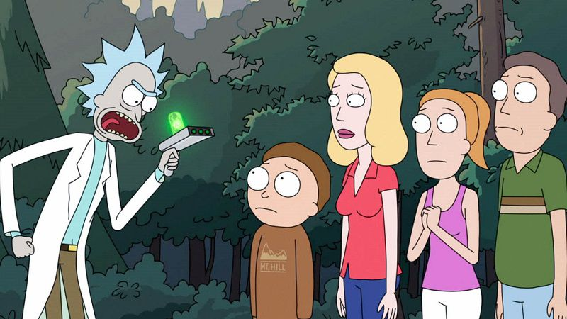 """Кадр из мультсериала """"Рик и Морти"""""""