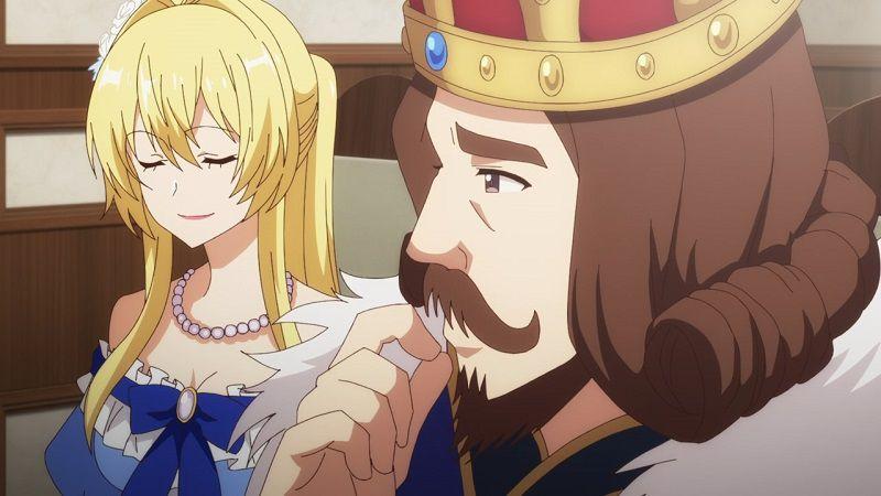 """Кадр из аниме """"Герой-рационал перестраивает королевство"""""""