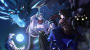 """Кадр из аниме """"Лунное путешествие приведет к новому миру"""""""