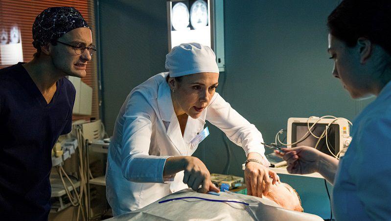 """Кадр из сериала """"Спросите медсестру"""""""