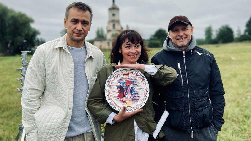 "Кадр со съемок сериала ""Доктор Иванов"""